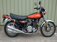 163 1973 kawasaki z1 orange brown tourer 903cc icon