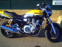 175 2001 yamaha xjr1300 1300cc yellow icon