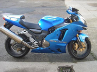 178 2005 kawasaki zx-12r 1200cc supersport blue icon