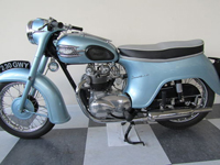 180 1964 triumph t21 350cc twin icon