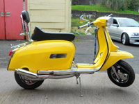 196 1983 lambretta gp150 yellow icon
