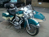 204 harley davidson flhrsi road king custom with watsonian sidecar icon