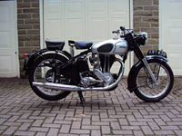 213 1951 norton es2 490cc icon