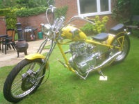 281 custom 1992 yamaha yellow icon