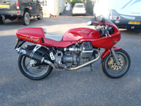 315 1997 moto guzzi daytona racing number 39 of 100 icon