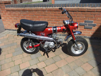 425 1973 Honda ST 70cc Monkey Bike Icon