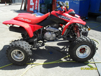 461 1999 Honda Fourtrax TRX 400EX Quad Icon