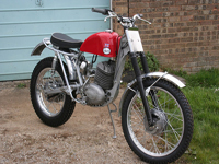 490 1966 Greeves 250 Trials Icon