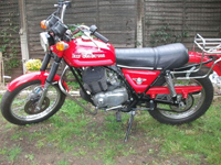 493 1978 HD Cagiva SST350 Icon