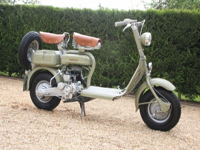 58 1952 lambretta 125d scooter icon