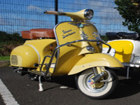 77 1962 vespa sportique icon
