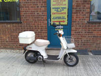 554 1982 Honda Melody Scooter Icon