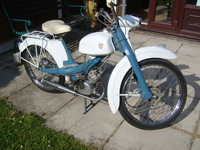 590 1963 NSU Quickly Moped 49CC Icon
