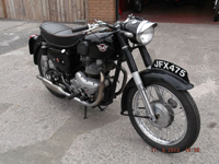 591 1955 Matchless G9 500cc Icon