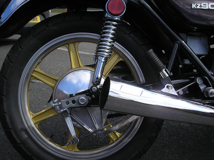 1976 Kawasaki Z1 Z900 A4 Rear Wheel