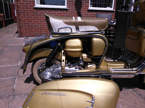 1966 lambretta golden special italian engine