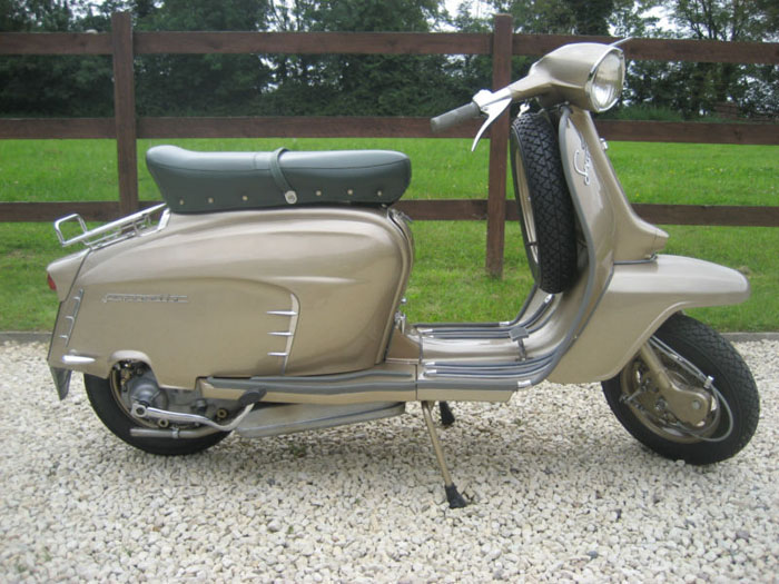 1964 lambretta chrome ring model golden special 1