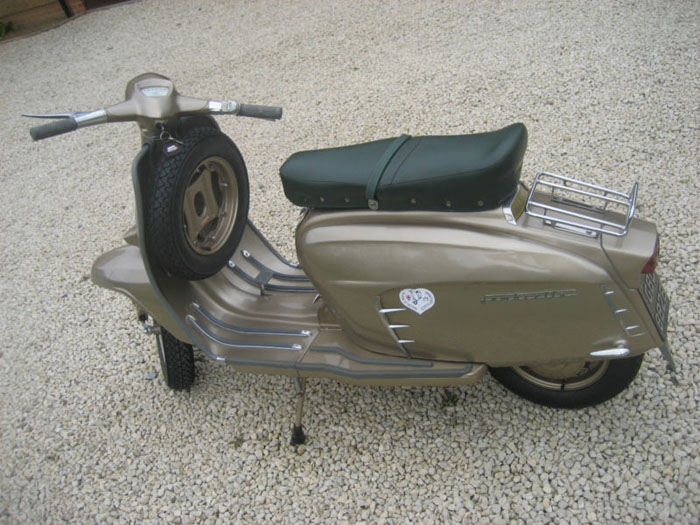 1964 lambretta chrome ring model golden special 3