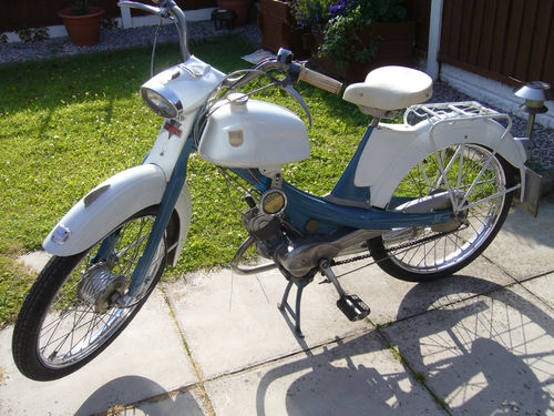 1963 NSU Quickly Moped 49CC 1