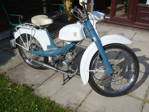 1963 NSU Quickly Moped 49CC 2