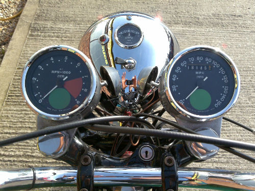 1968 norton 750 commando classic fastback speedometer