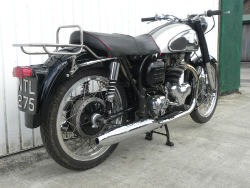 1958 norton wideline dominator 99 600cc 2