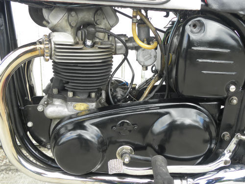 1958 norton wideline dominator 99 600cc engine 22