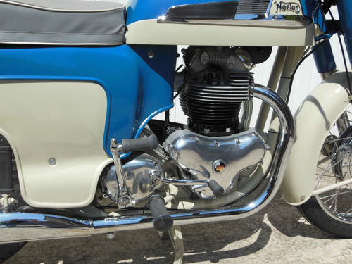 1959 Norton Dominator 88 Deluxe Engine