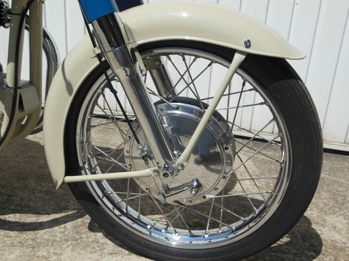 1959 Norton Dominator 88 Deluxe Front Wheel