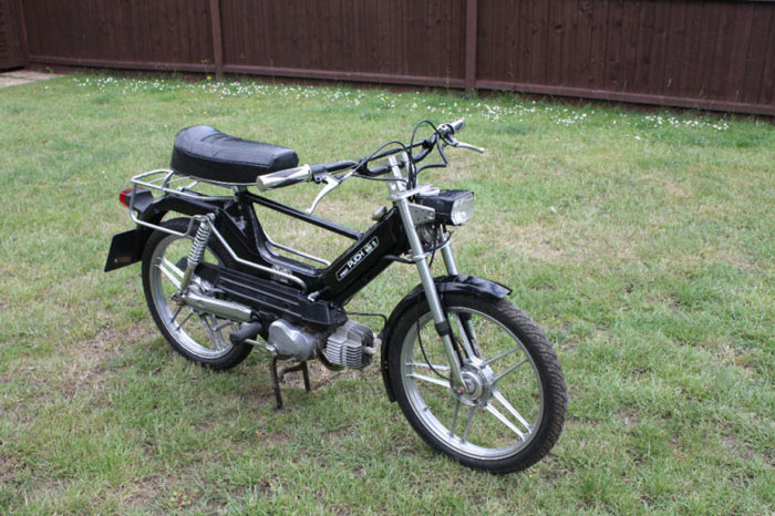 1986 puch maxi sport special silver 3