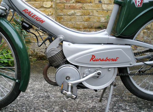 1965 Raleigh RM6 Runabout 49cc Moped Engine