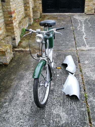 1965 Raleigh RM6 Runabout 49cc Moped Front
