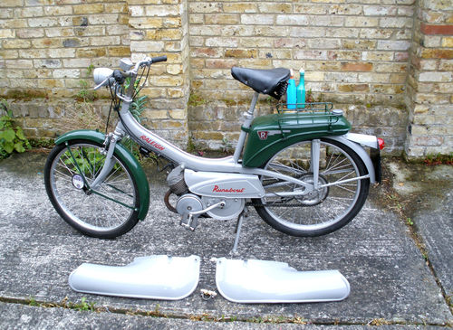 1965 Raleigh RM6 Runabout 49cc Moped