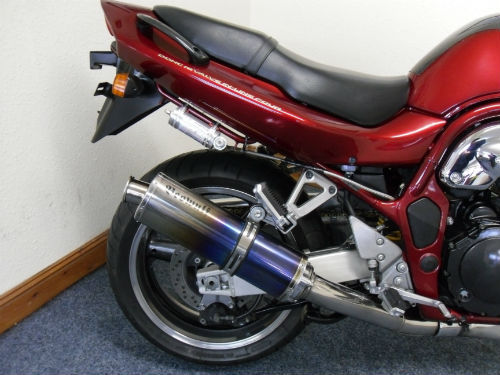 1998 suzuki gsf 1200 s bandit rear wheel exhaust