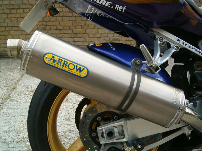2003 Suzuki GSXR 600 ZK3 Corona Extra Arrow Exhaust
