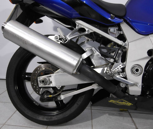 2000 Suzuki GSXR 750 K1 Rear Wheel Exhaust