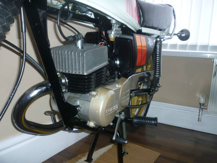 1981 suzuki zr50 x1 engine