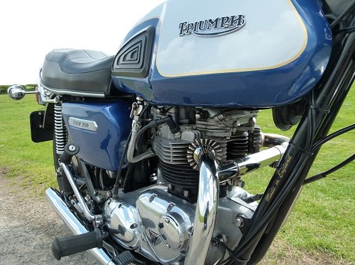1978 Triumph TR7V Tiger T140 Engine Tank