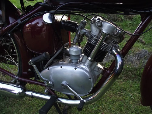 1955 Triumph Terrier Engine