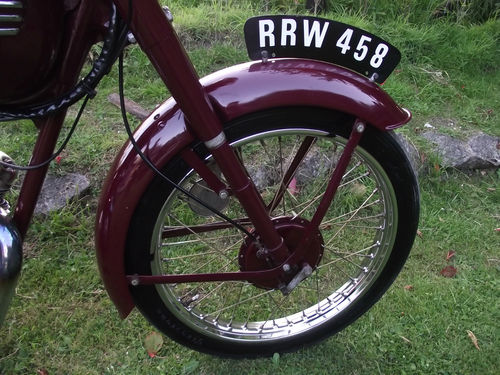 1955 Triumph Terrier Front Wheel