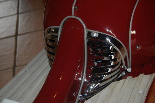 1964 Triumph Tina Chrome Closeup
