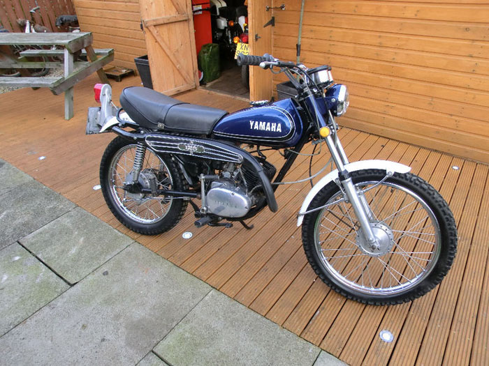 1974 yamaha at2 125 e enduro 1
