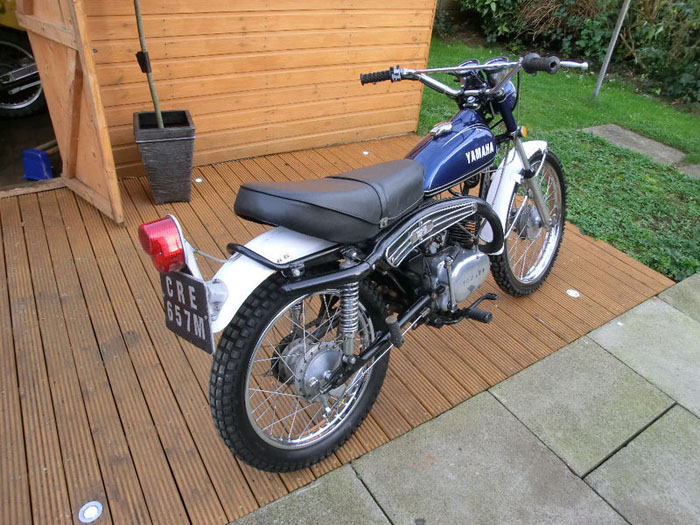 1974 yamaha at2 125 e enduro 2