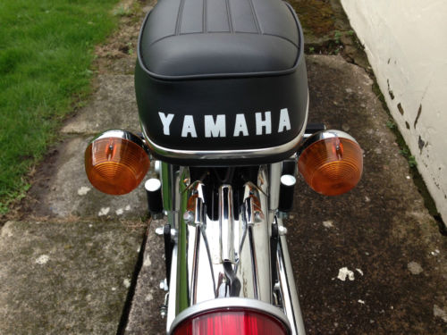 1973 Yamaha FS1-E Fizzy Rear Seat Indicators