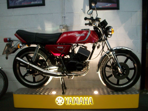 1983 yamaha rd 200 dx iconic air cooled twin 195cc 1