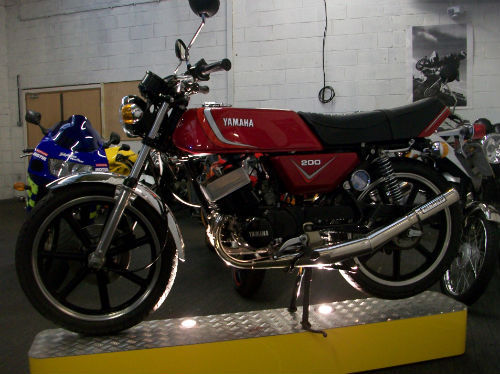 1983 yamaha rd 200 dx iconic air cooled twin 195cc 3