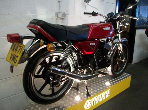 1983 yamaha rd 200 dx iconic air cooled twin 195cc 4