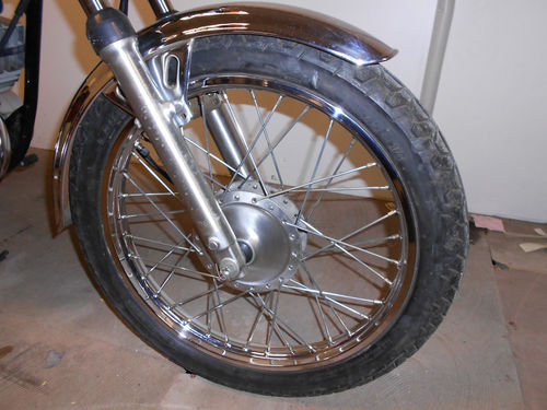 1987 Yamaha RXS100 Classic 2 Stroke Front Wheel