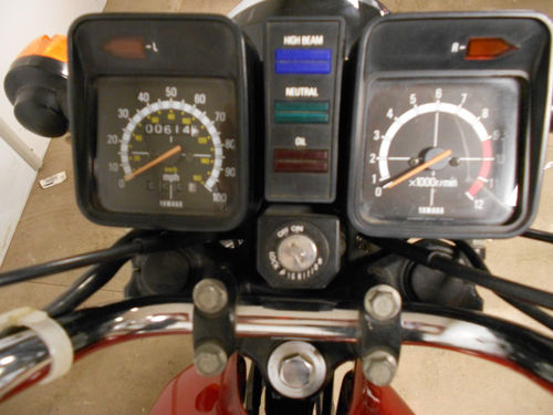 1987 Yamaha RXS100 Classic 2 Stroke Speedometer Gauges