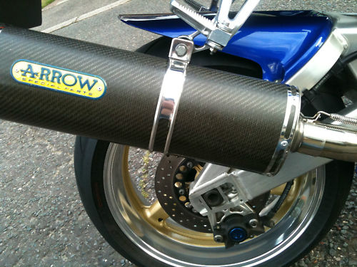 1998 yamaha yzf-r1 arrow special parts exhaust